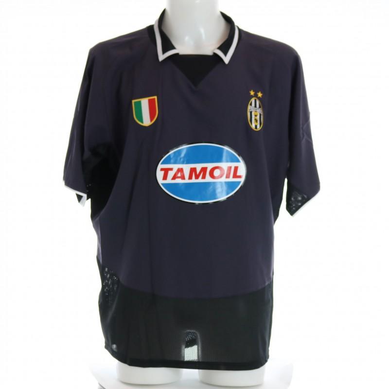 Iuliano's Juventus Match Shirt, TIM Cup 2003/04