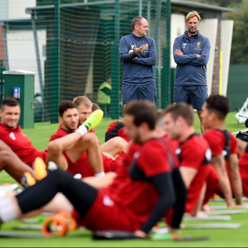 Watch a Liverpool FC Squad Open Training Session