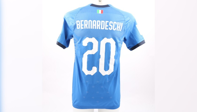 Bernardeschi's Match-Issue/Worn Shirt, Italy-Sweden 2017