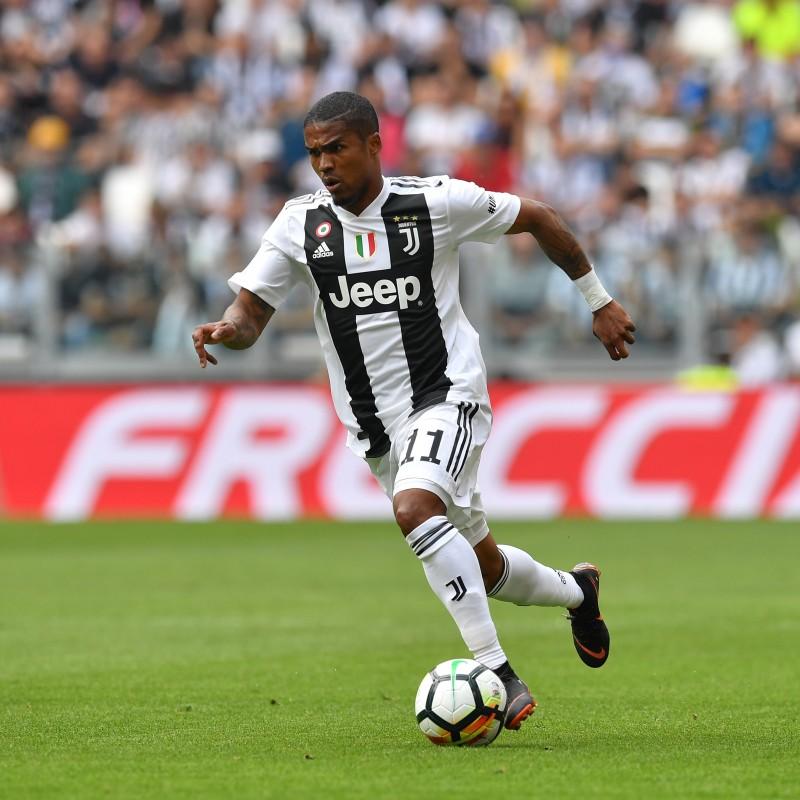 Douglas Costa's Official Juventus Signed Shirt, 2018/19