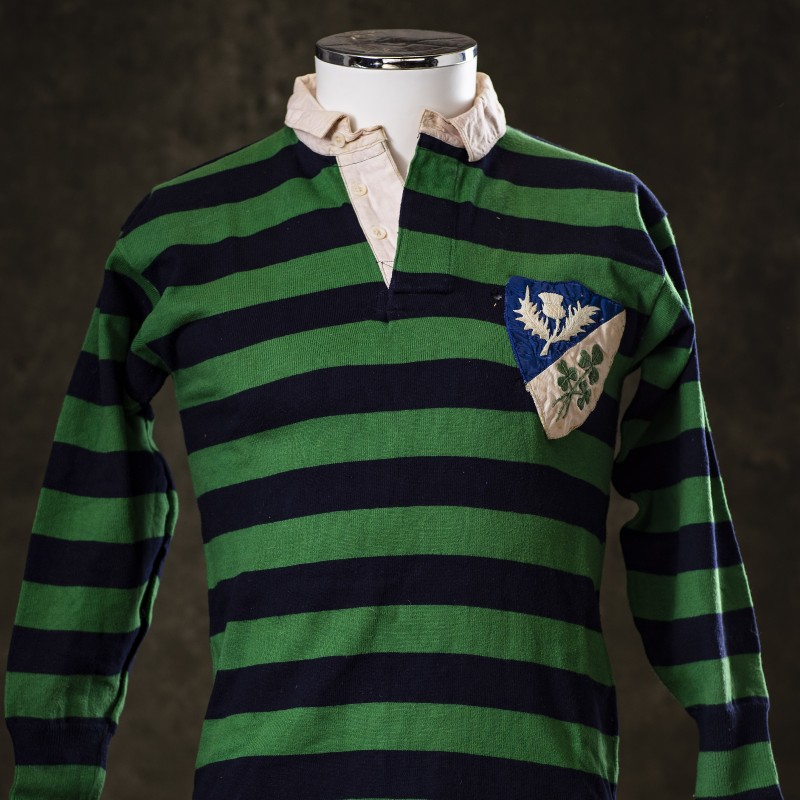 Scotland-Ireland v England-Wales NYE 1955 Shirt and Programme
