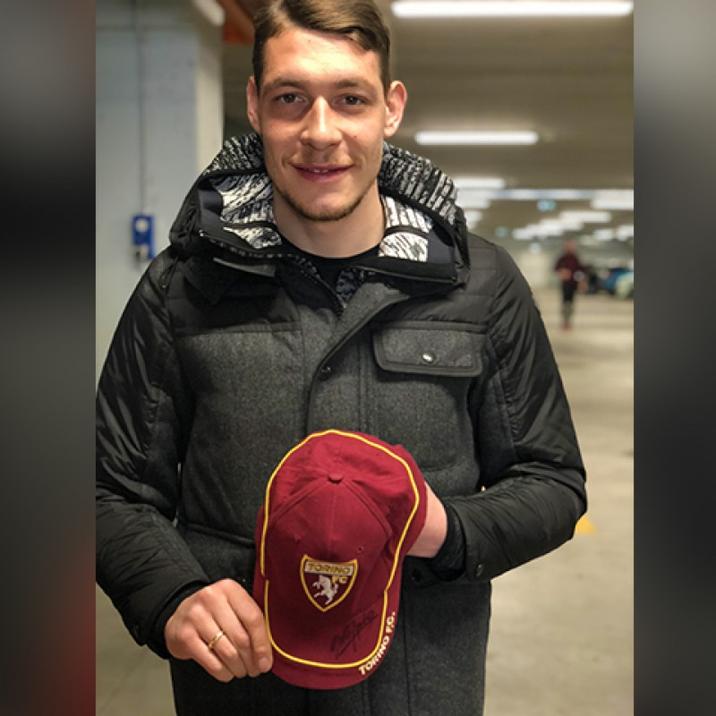 Official Torino FC Cap Signed by Andrea Belotti