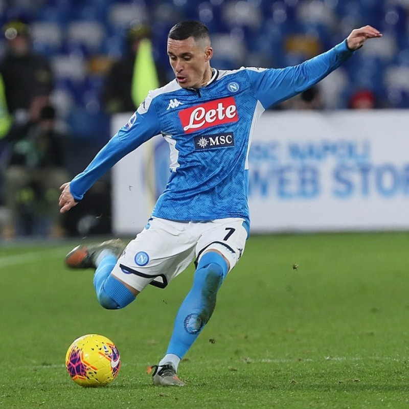 Callejon's Napoli Worn and Signed Shorts, 2019/20