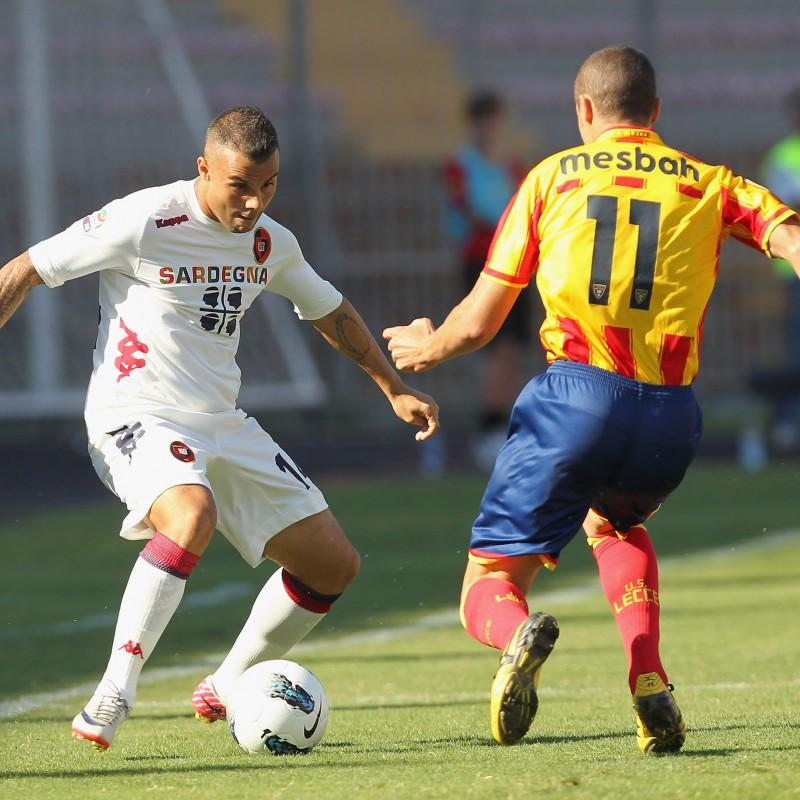 Mesbah's Lecce Match Shirt, 2011/12