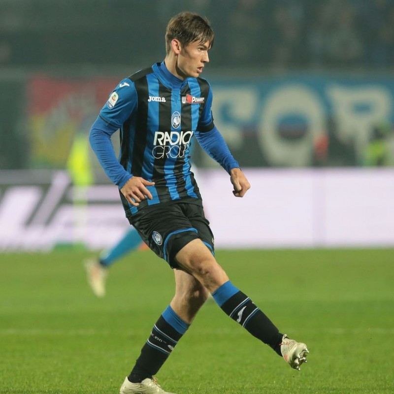De Roon's Atalanta Match-Issue/Worn and Signed Shirt, 2018/19