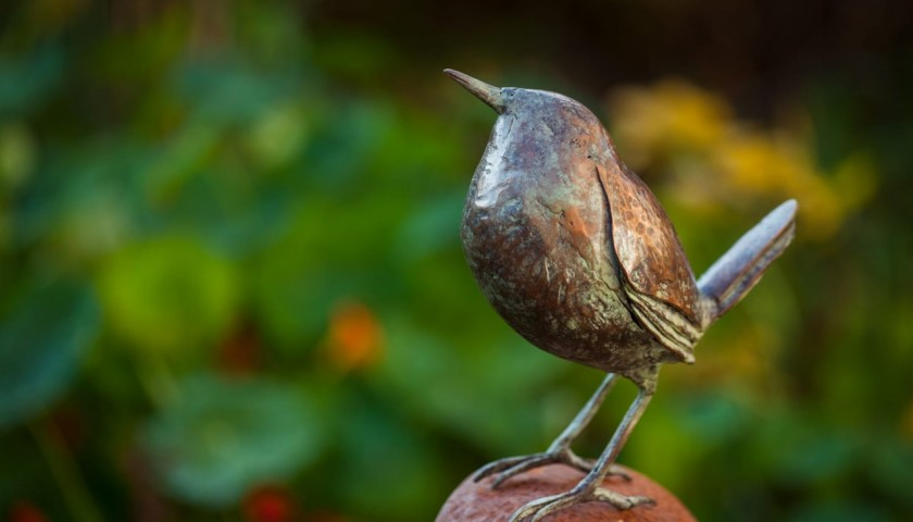 Bronze Bird by Leo Heerkens