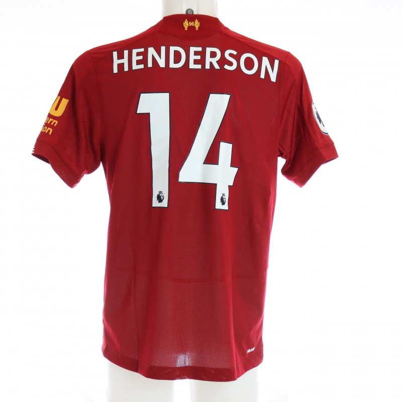 Henderson's Issued and Signed Limited Edition 19/20 Liverpool FC Shirt