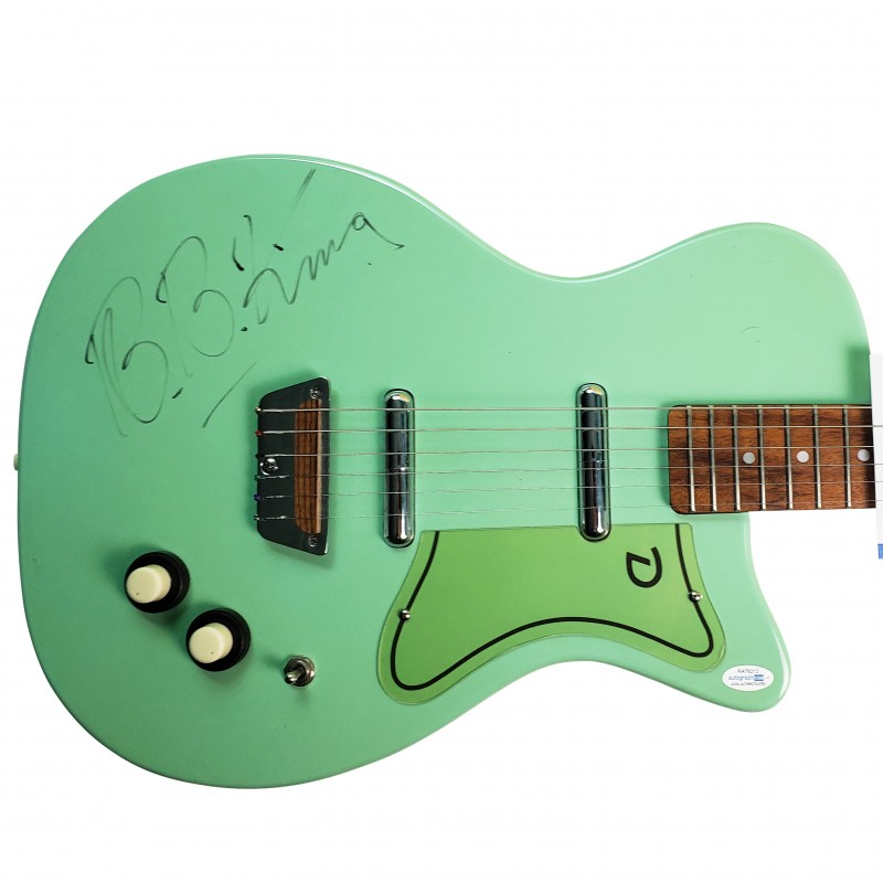 Danelectro Guitar Hand Signed by BB King