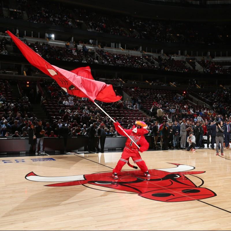 Michael Jordan Chicago Bulls Game Used Court Section