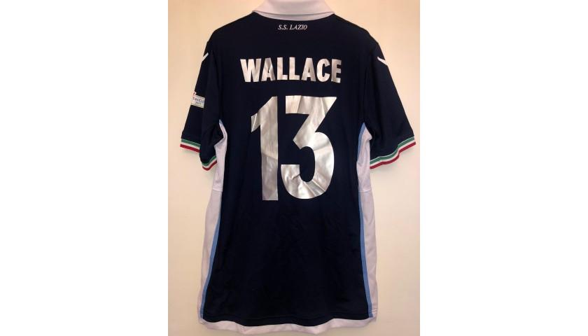 Maglia gara Wallace Lazio, Finale TIM Cup 2017 - CharityStars