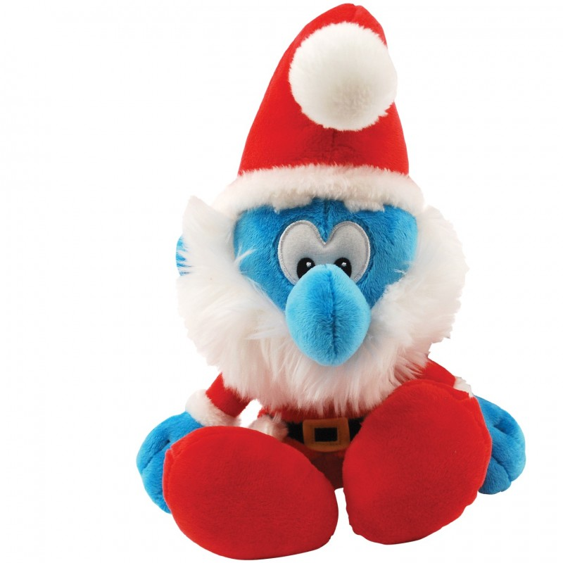 Donate a Stuffed Christmas Smurf