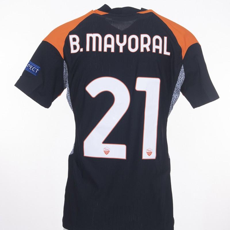 Mayoral's Match-Issued Shirt, Braga-Roma EL 20/21
