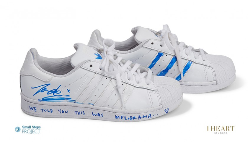 Lorde Signed Shoes