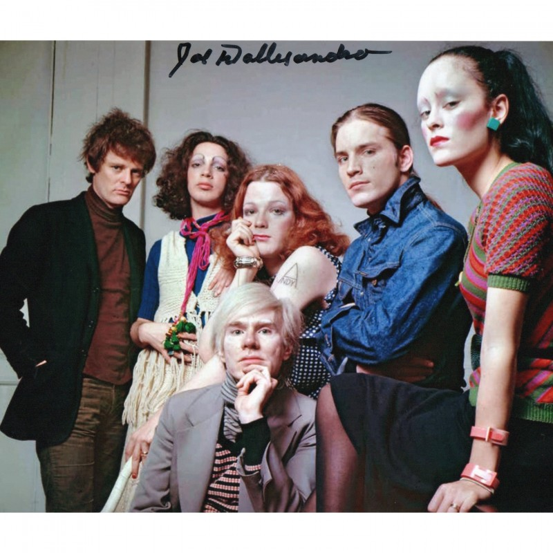 Photograph Signed by Actor Joe Dallesandro