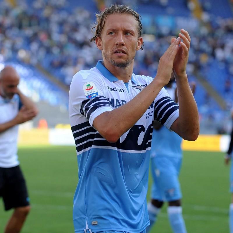 Lucas's Lazio Signed Match Shirt, Serie A 2018/19