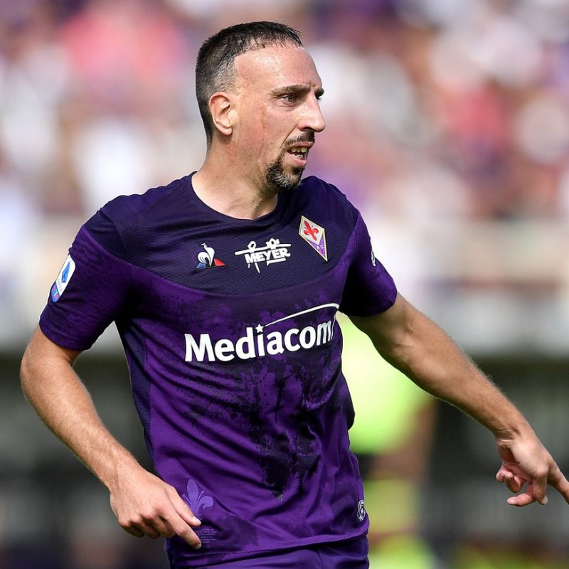Ribery's Fiorentina Signed Match Shirt, 2019
