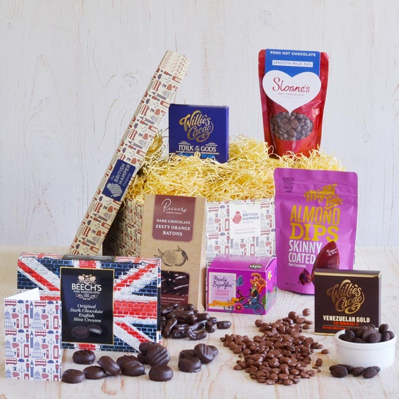 Divinely Decadent Chocolate Hamper from British Hampers