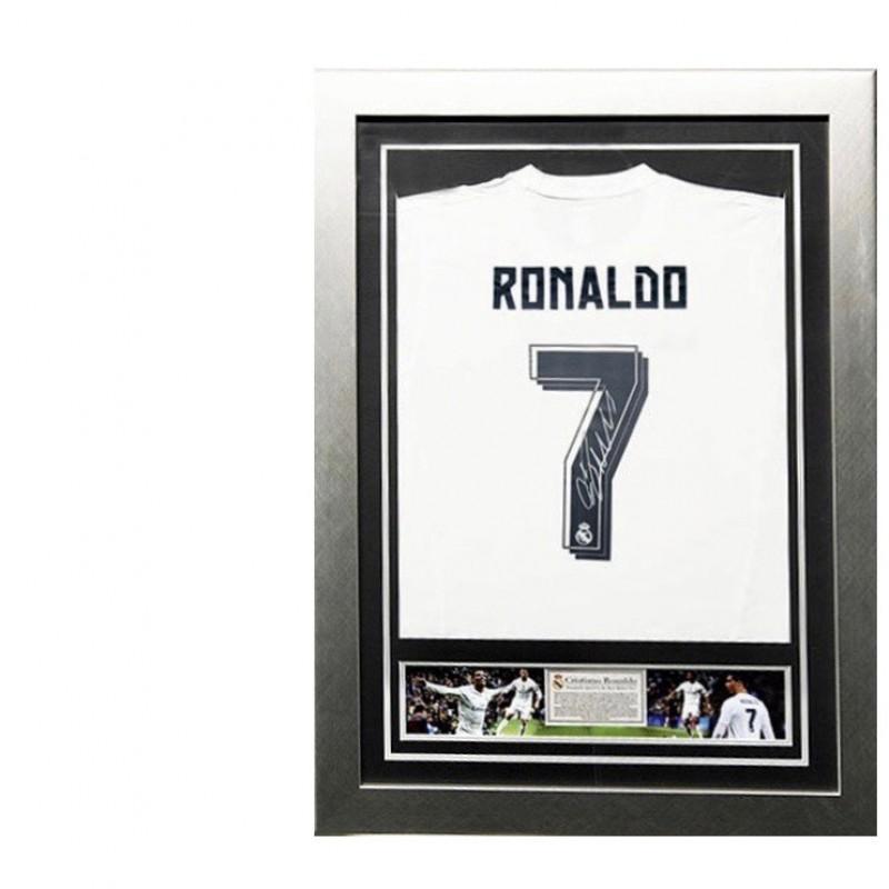 Cristiano Ronaldo Signed Real Madrid 2015/2016 Shirt