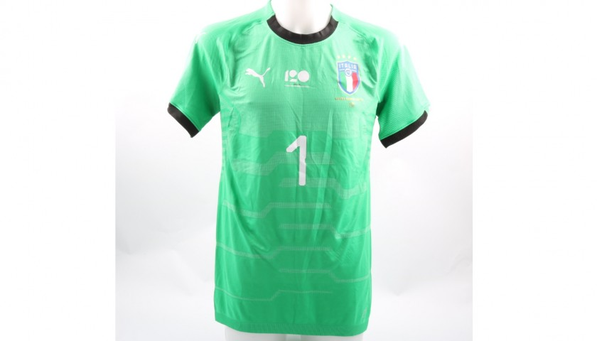 Buffon's Match-Issue/Worn Shirt, Argentina-Italy Friendly
