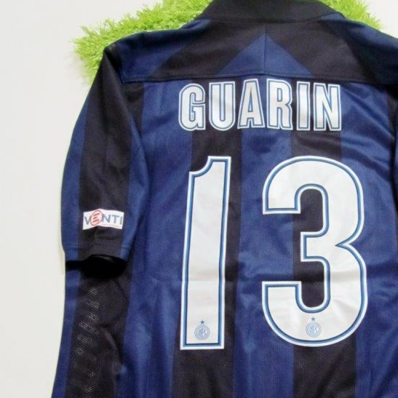 Guarin match issued/worn shirt, Inter-Chievo Verona, Serie A 13/14