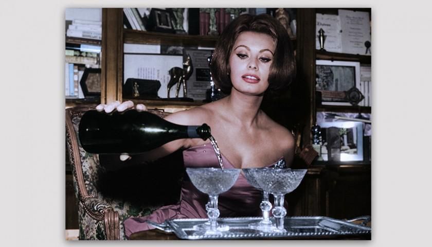 Image result for sophia loren wine
