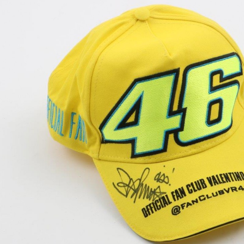 Official Valentino Rossi Fan Club cap - signed #2