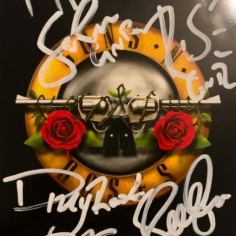 Photograph Signed by Guns N' Roses