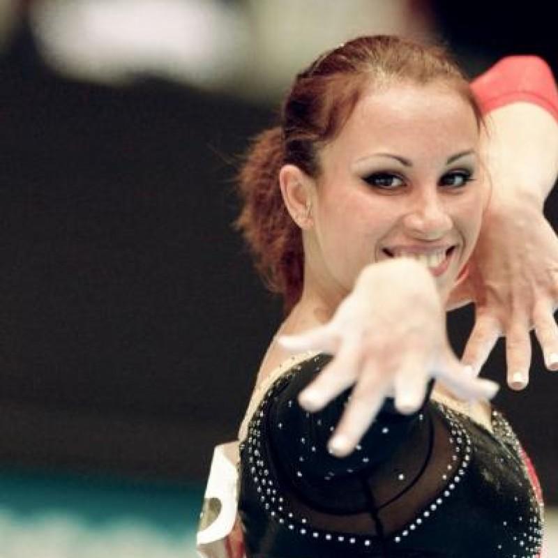 Vanessa Ferrari will deliver her bodysuit at Gymnastics Grand Prix in Florence