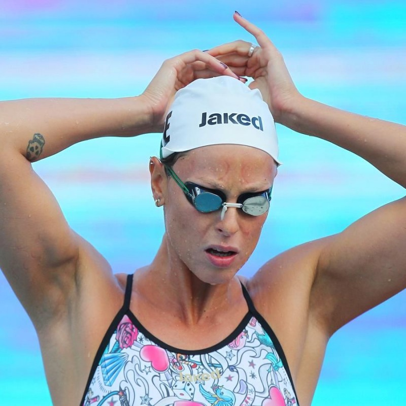 Jaked Swimming Cap - Signed by Federica Pellegrini