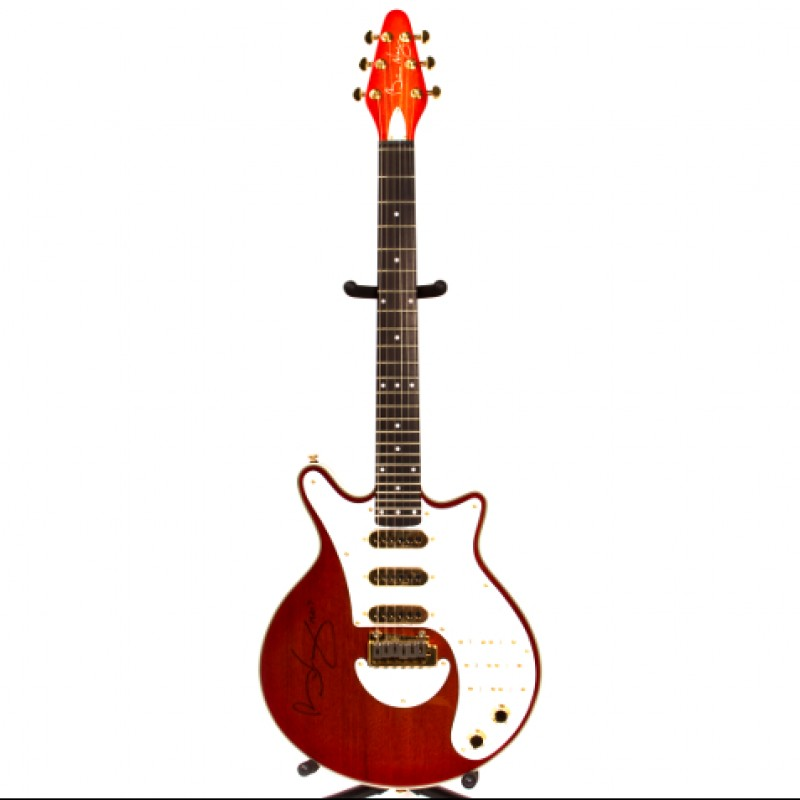 Brian May Signed Red Special Guitar