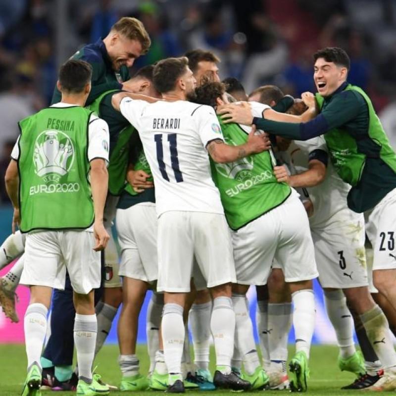 Berardi's Match Shirt, Belgium-Italy 2021