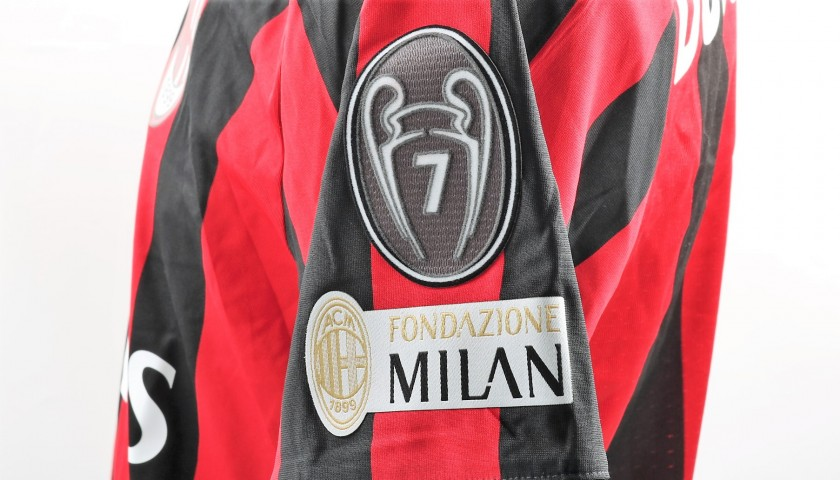 c37388f513f254 Maglia Bonaventura indossata Milan-Inter - Patch Speciale & Unwashed -  CharityStars
