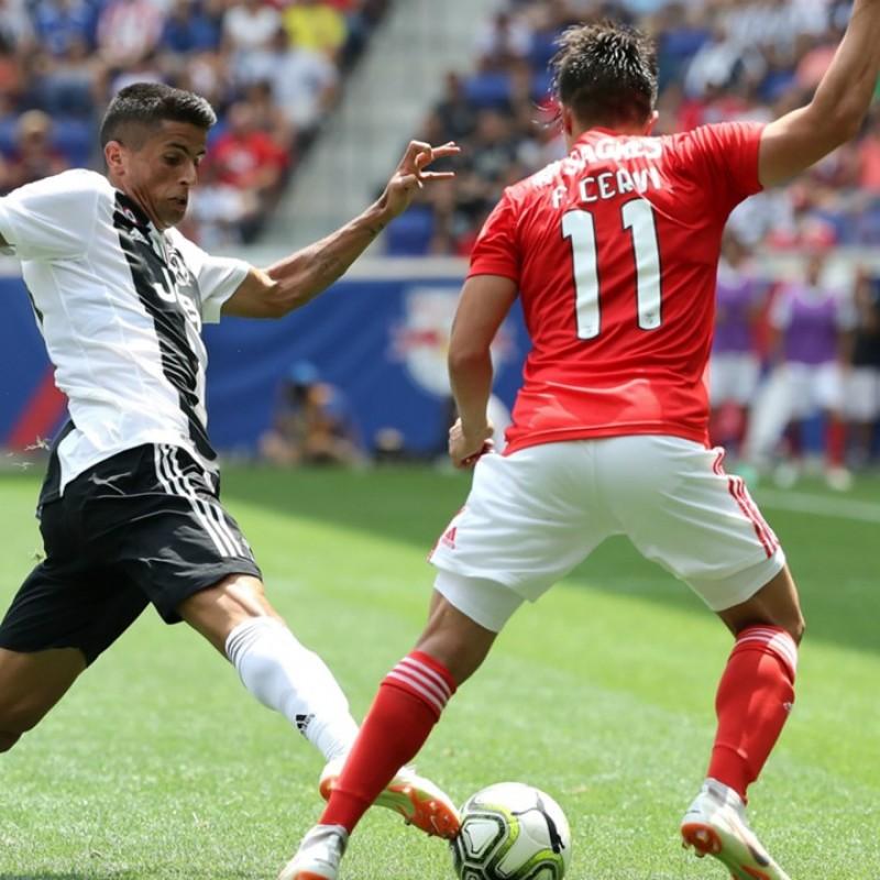 Cervi's Worn Shirt, Benfica-Juventus 2018