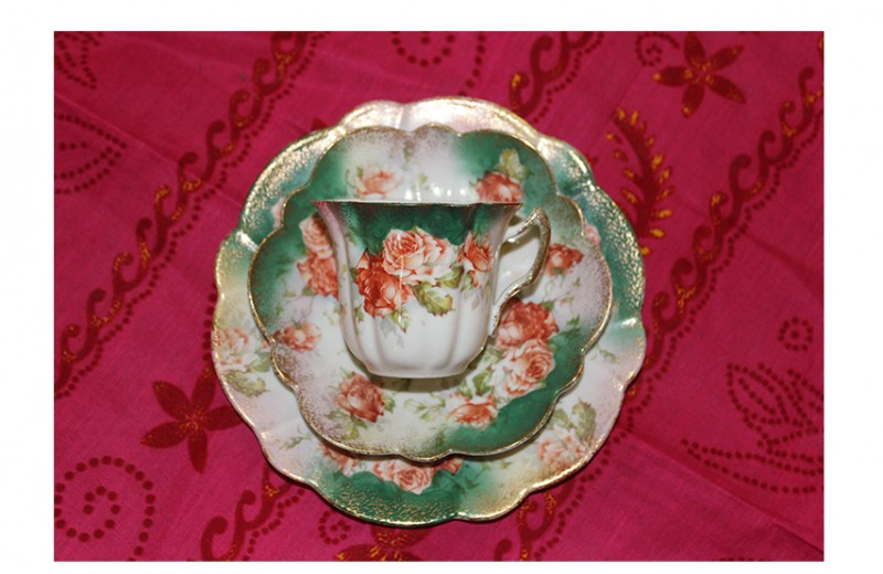 China Cup and Saucer, Set 1
