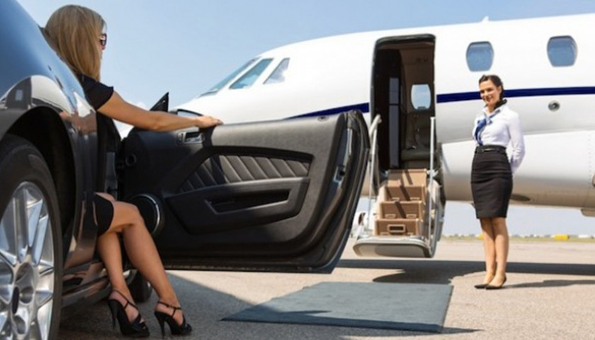 Private Plane to Reims for a Champagne Tour