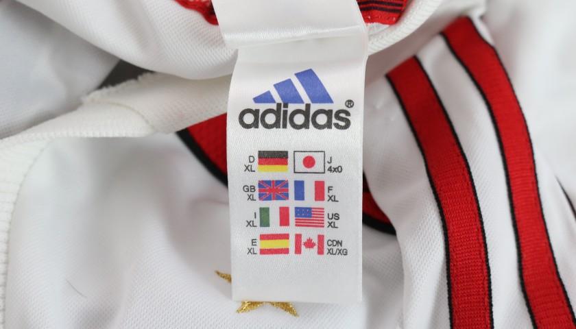 Shevchenko's Milan Match Shirt, Serie A 2000/01