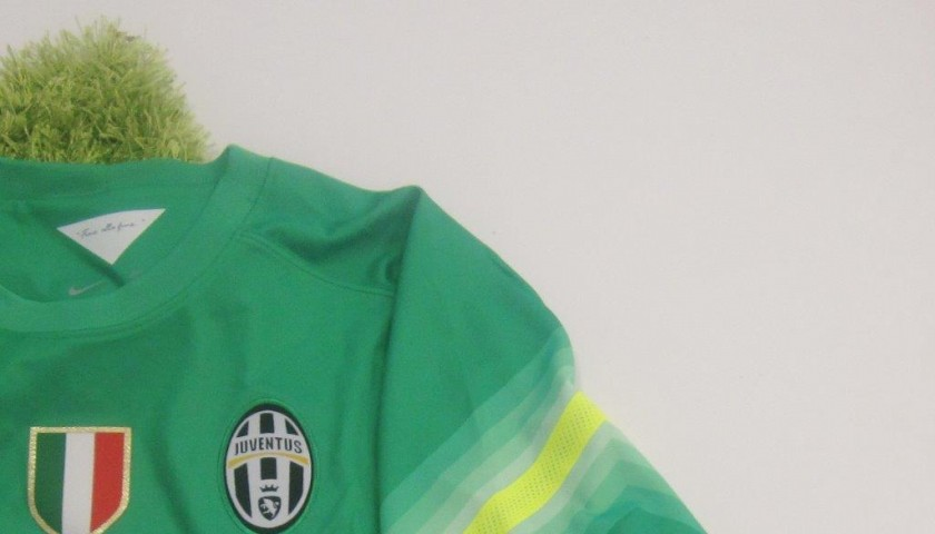 Buffon Juventus shirt, 2014/2015 season - signed