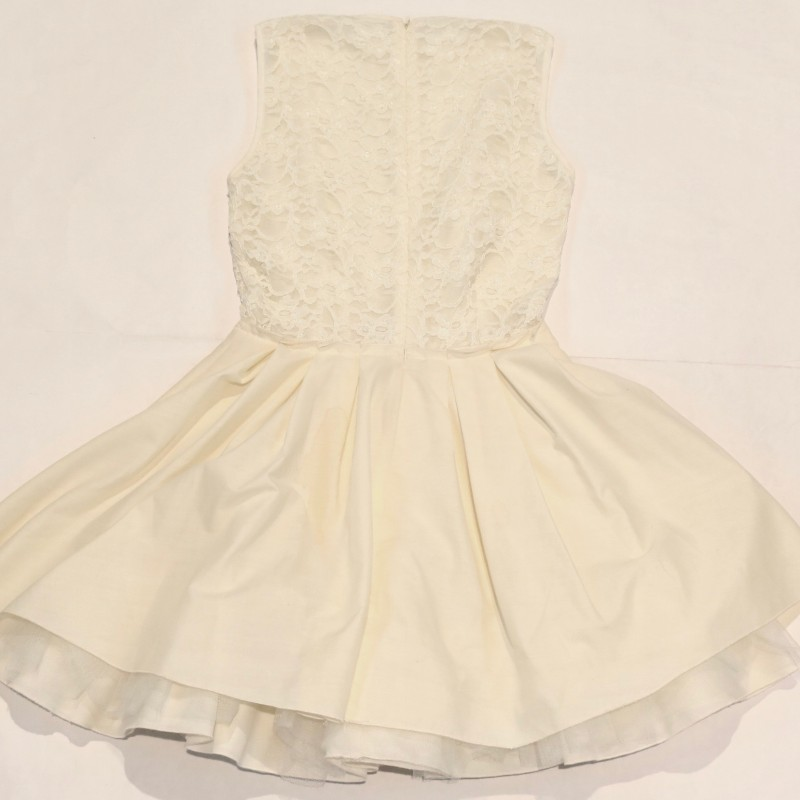 White Jones+Jones Dress Donated by Francine Lewis