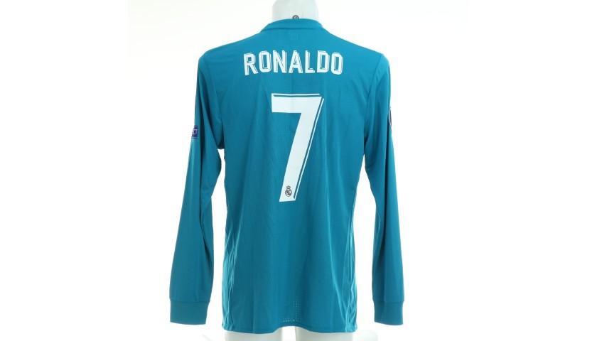 Ronaldo's Real Madrid Match Shirt, UCL 2017/18