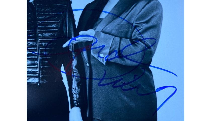 Oprah Winfrey and Michael Jackson Photo Signed by Oprah Winfrey