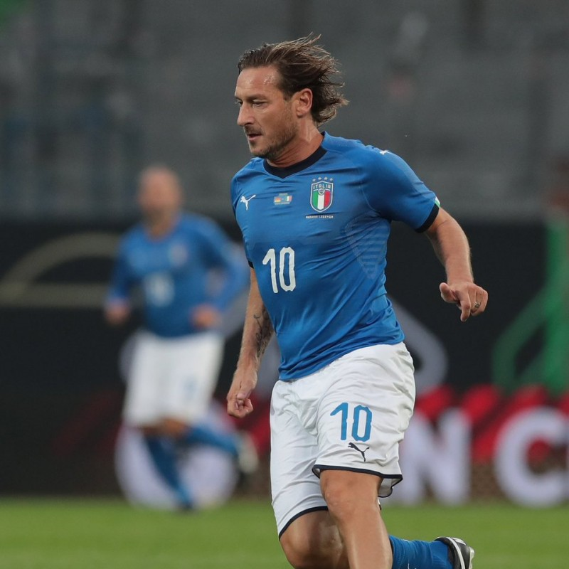 Totti's Match Shirt, Germany-Italy 2019