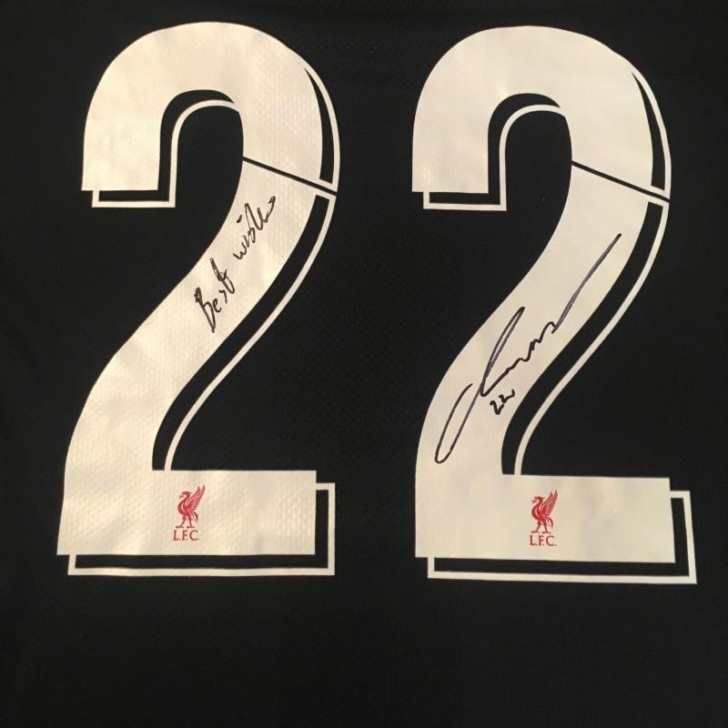 Kirkland's Liverpool FC Legends Match Worn and Signed Shirt