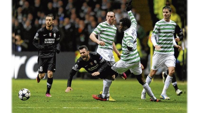 Vucinic's Match Shirt, Celtic-Juventus 2013