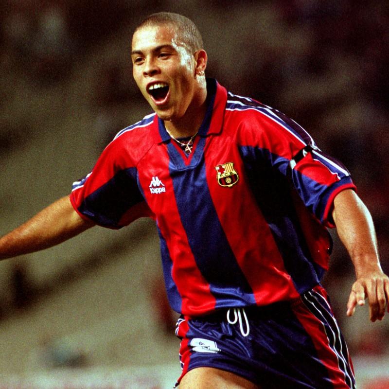 new concept 73553 5eee5 Ronaldo's Match-Issued/Worn Barcelona Shirt, Liga 1996/97 ...