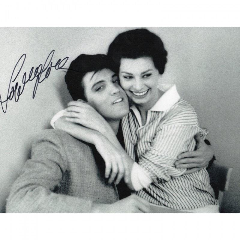 Photograph Signed by Sophia Loren