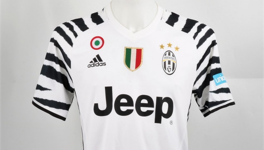 Marchisio Worn Shirt, Bologna-Juventus - Special UNICEF Patch