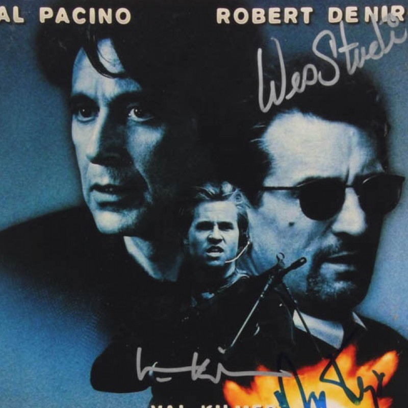 """""""Heat"""" Hand Signed Poster/Photo"""