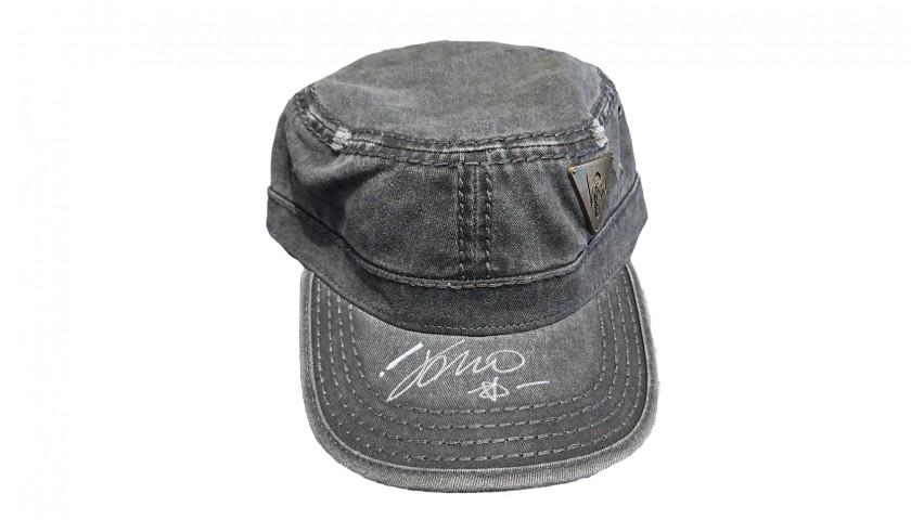 Cap Signed by Italian Singer Vasco Rossi
