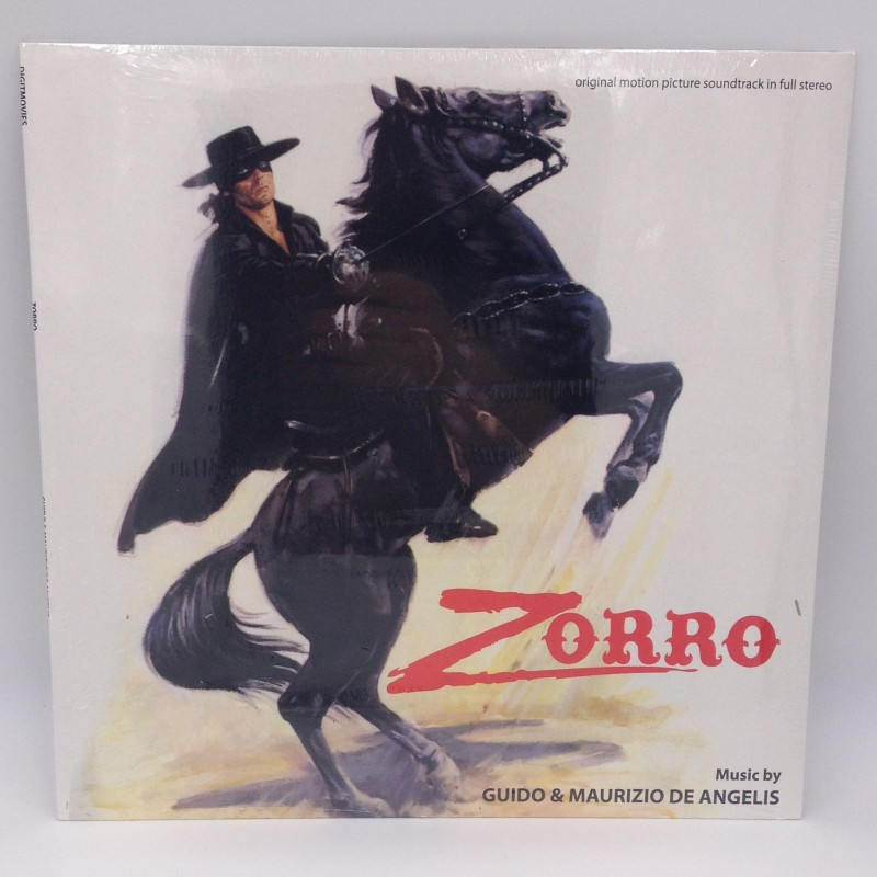 """Zorro"" Limited Edition LP by Guido and Maurizio De Angelis"