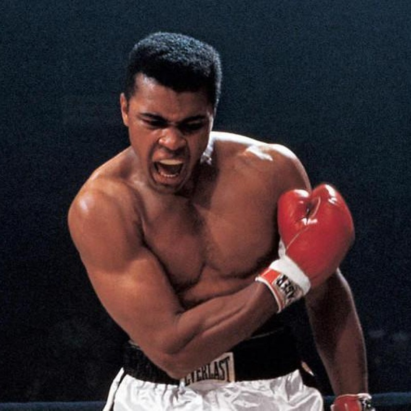 Muhammad Ali Boxing Glove with Digital Signature